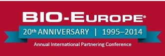 Come meet us at Bio-Europe 2014